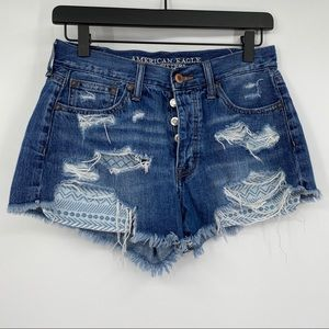 American Eagle outfitters vintage hi rise festival